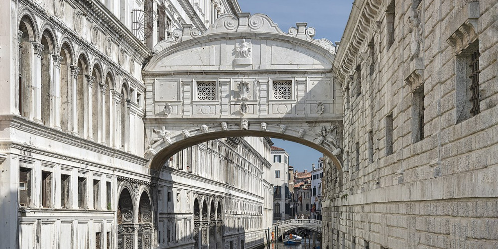Венеция: Мост вздохов, Венето (Венеция, Верона, Виченца, Тревизо), Италия