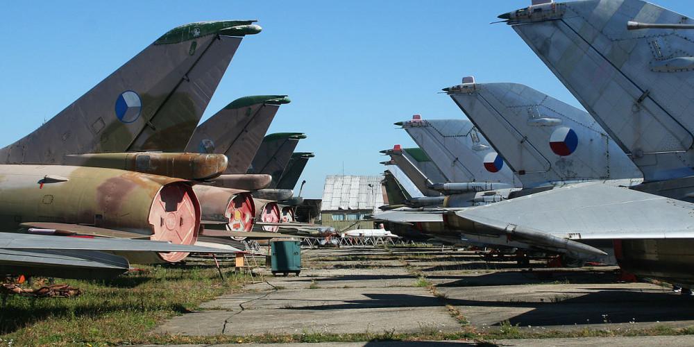 Vyskov Air Museum, Моравия (Брно, Оломоуц, Острава, Злин), Чехия