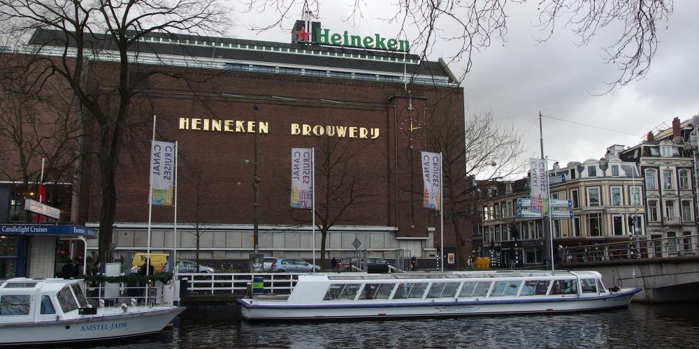 Хайнекен, Амстердам, Центр и Запад (Амстердам, Роттердам, Утрехт, Алмере), Нидерланды