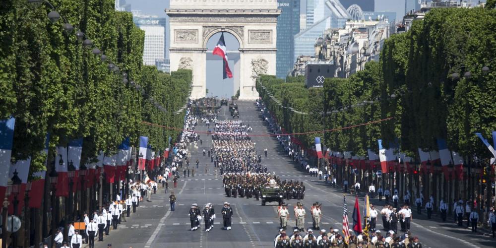 День взятия Бастилии, Париж, Иль-де-Франс (Париж), Франция