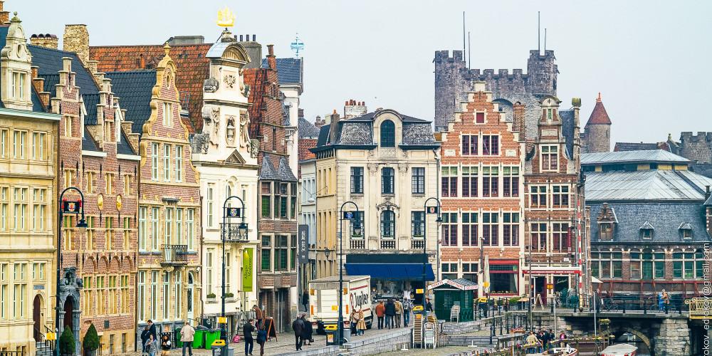 Гент, Фландрия (Антверпен, Гент, Брюгге, Остенде, Лёвен, Хасселт), Бельгия