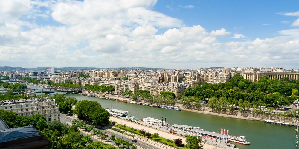 Париж, берега Сены, Иль-де-Франс (Париж), Франция