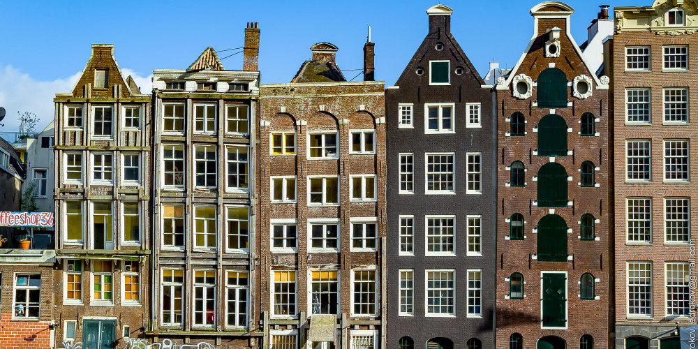 Амстердам, Центр и Запад (Амстердам, Роттердам, Утрехт, Алмере), Нидерланды