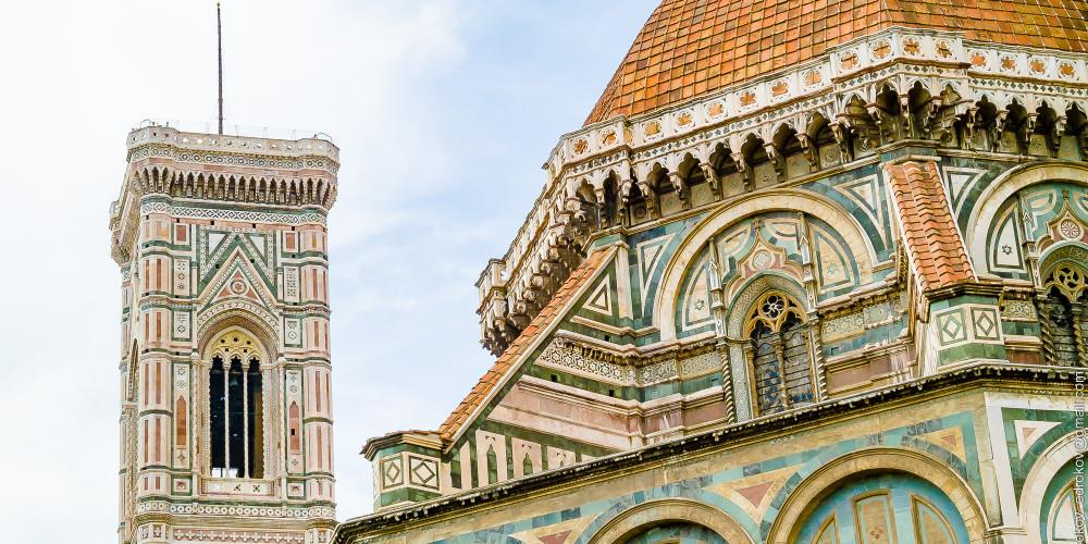 Флоренция: Санта-Мария-дель-Фьоре (Флорентийский собор), Тоскана (Флоренция, Пиза, Сиена, Прато, Ливорно, Ареццо), Италия