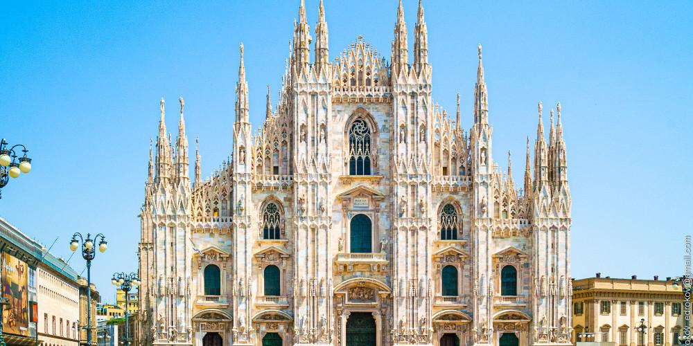 Миланский собор, Ломбардия (Милан, Брешиа, Варезе, Бергамо, Комо, Монца), Италия
