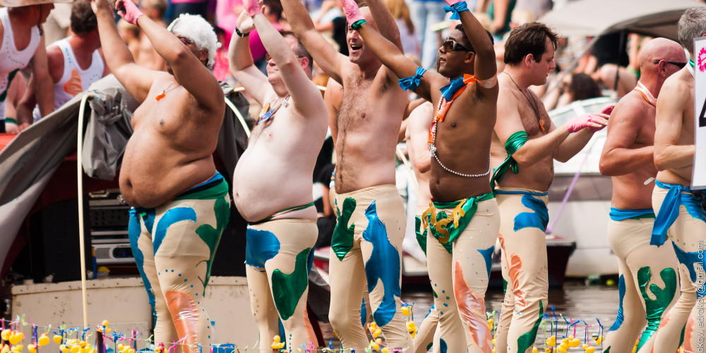 Гей-парад, Центр и Запад (Амстердам, Роттердам, Утрехт, Алмере), Нидерланды