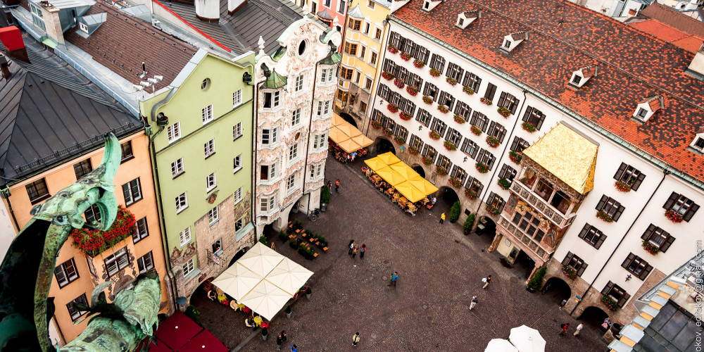 Золотая крыша, Инсбрук, Тироль, Форарльберг (Инсбрук), Австрия