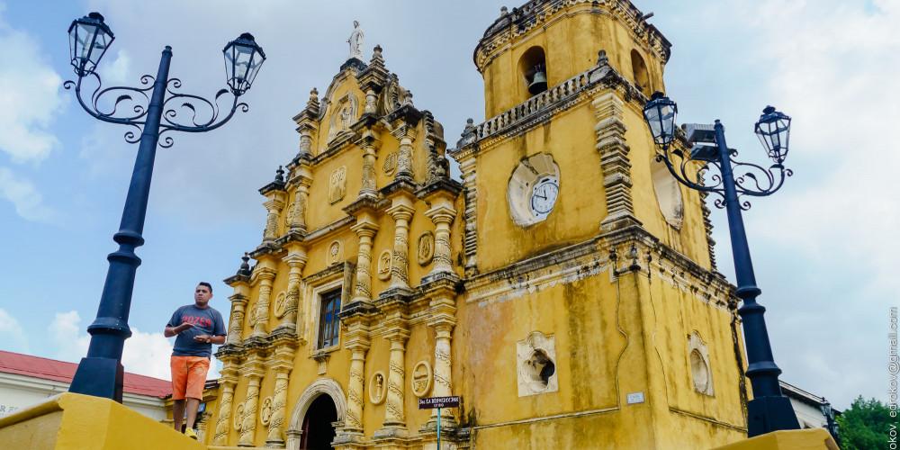 Leon: Iglesia La Recoleccion, Северо-запад (Манагуа, Леон, Матагальпа, Хинотега), Никарагуа