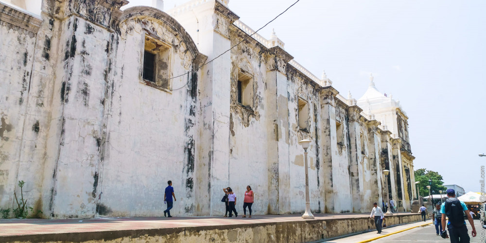 Леон: Собор Леона, Северо-запад (Манагуа, Леон, Матагальпа, Хинотега), Никарагуа