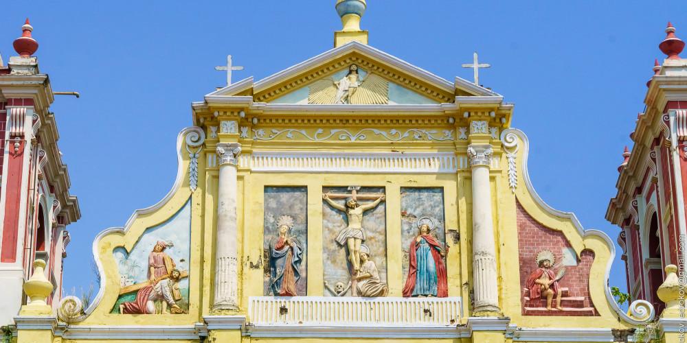 Леон: Церковь Голгофы, Северо-запад (Манагуа, Леон, Матагальпа, Хинотега), Никарагуа