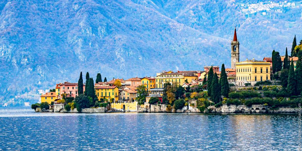 Озеро Комо, Ломбардия (Милан, Брешиа, Варезе, Бергамо, Комо, Монца), Италия