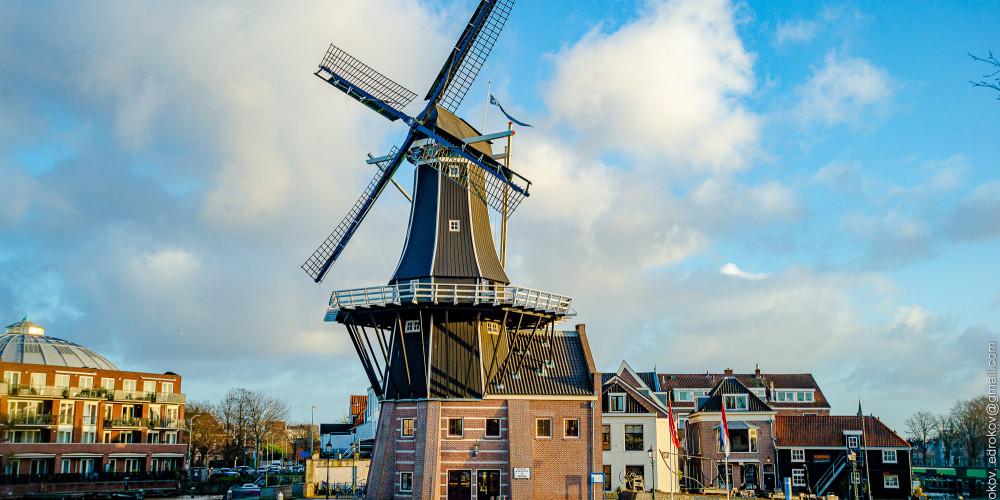 Харлем: Молен де Адриан, Центр и Запад (Амстердам, Роттердам, Утрехт, Алмере), Нидерланды