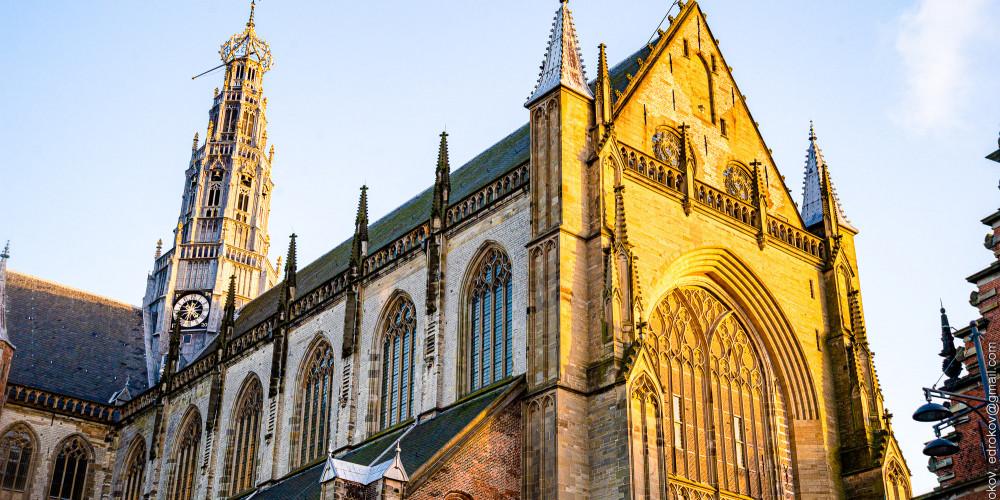 Харлем: Цекровь Святого Бавона, Центр и Запад (Амстердам, Роттердам, Утрехт, Алмере), Нидерланды