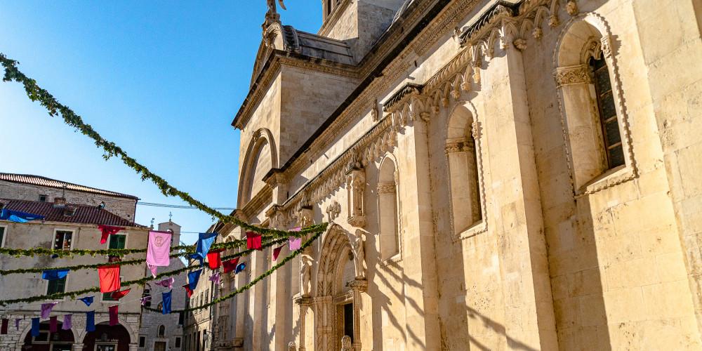 Фото Собор Святого Иакова в Шибенике, Далмация (Сплит, Дубровник, Задар, Книн, Брач, Хвар, Макарска), Хорватия