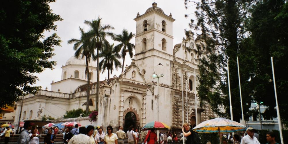 Тегусигальпа: Собор Св. Михаила Архангела, Высокогорье (Тегусигальпа, Хутикальпа) и Тихий океан (Чолутека), Гондурас