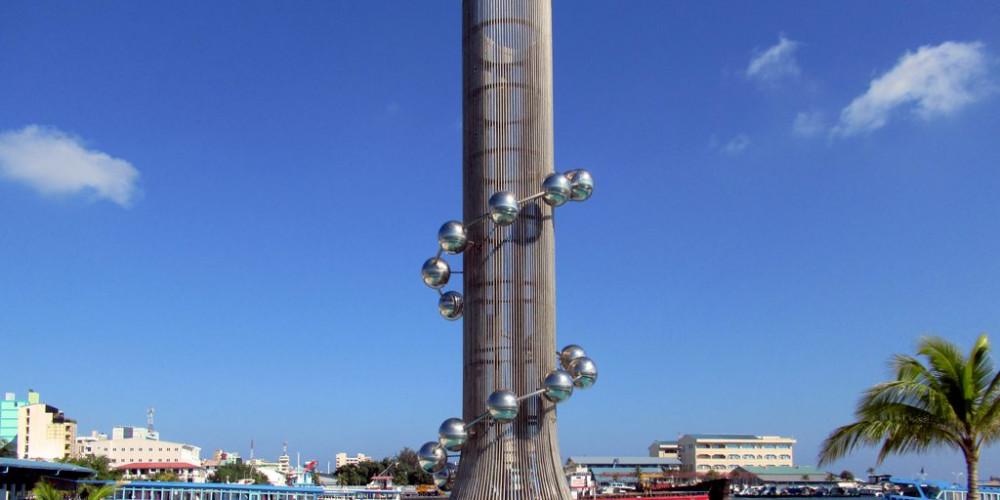 Male: Tsunami Monument, Северная и Центральная провинции (Мале, Фонаду), Мальдивы