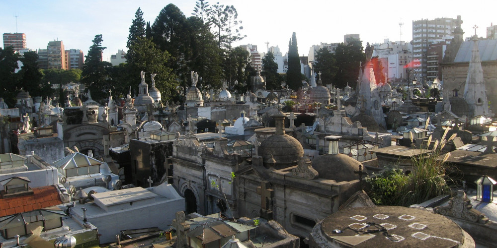 Буэнос-Айрес: Реколета кладбище, Федеральный округ Буэнос-Айрес, Аргентина