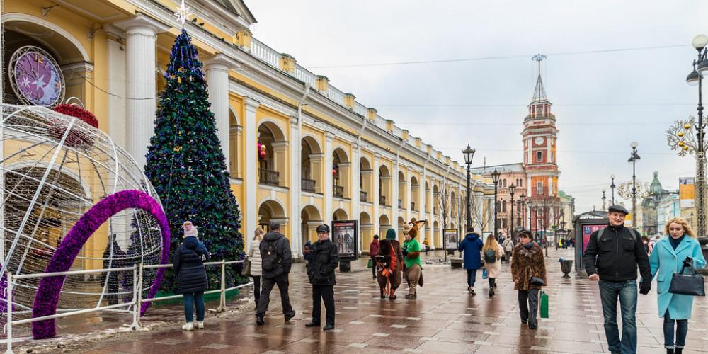 Санкт-Петербург: Гостиный двор, Санкт-Петербург, Россия