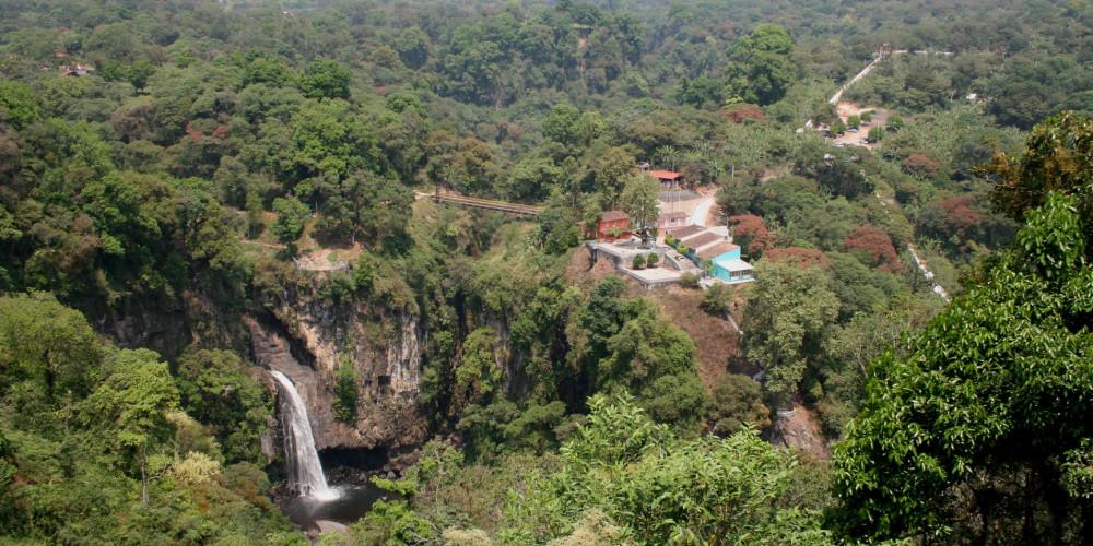Водопад Texolo, Вера Круз (Халапа, Коацакоалькос), Мексика