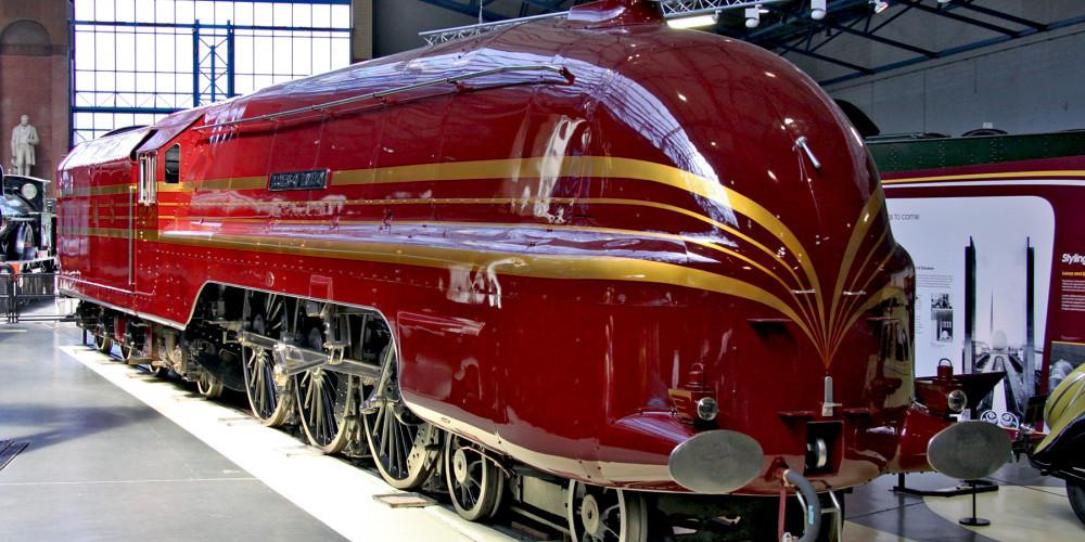 Англия - Йорк: Национальный железнодорожный музей, Йоркшир и Хамбер (Лидс, Брэдфорд, Шеффилд, Халл), Великобритания - Англия