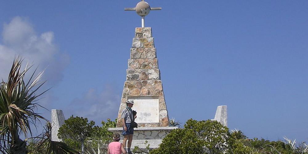 Лонг-Айленд: Памятник Колумбу, Нью-Провиденс (Нассау), Андрос, Эксума, Кот, Инагуа, Багамские Острова