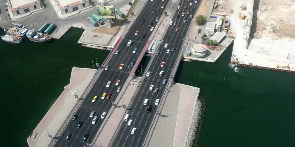 Dubai: Al Makhtoum Bridge, Дубай, Объединенные Арабские Эмираты
