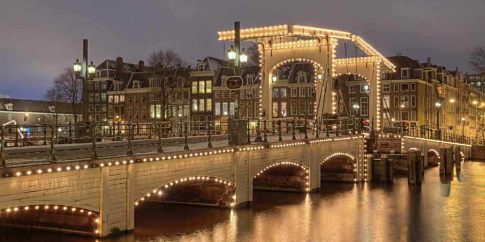 Фото Амстердам: Тощий мост, Центр и Запад (Амстердам, Роттердам, Утрехт, Алмере), Нидерланды