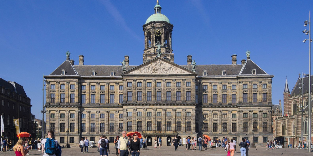 Амстердам: Королевский дворец, Центр и Запад (Амстердам, Роттердам, Утрехт, Алмере), Нидерланды