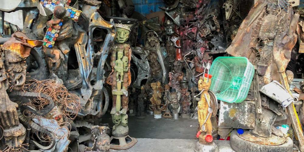 Port au Prince: Atis Rezistans, Юг (Порт-о-Пренс, Жереми, Жакмель, Ле-Ке), Гаити