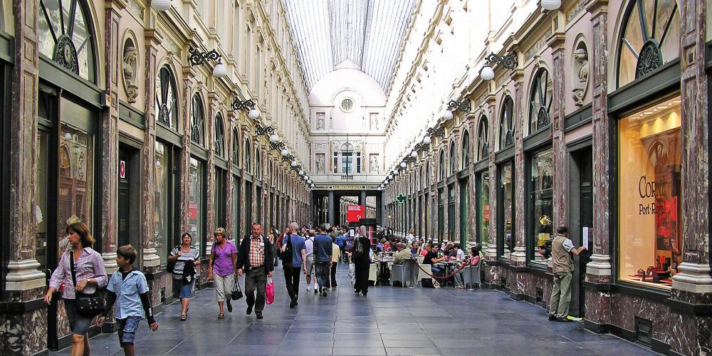 Брюссель: Сен-Юбер Роял Галереи, Брюссель, Бельгия