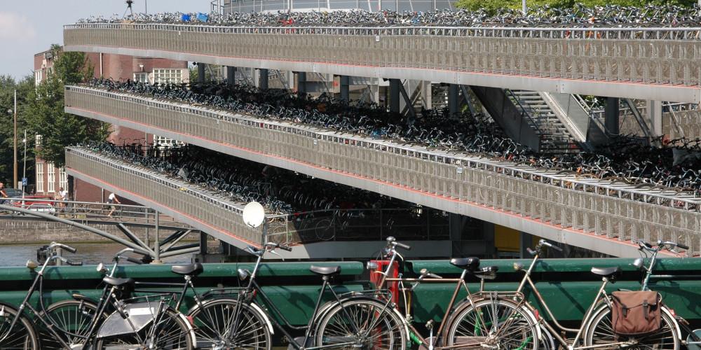 Амстердам: Дом велосипедов, Центр и Запад (Амстердам, Роттердам, Утрехт, Алмере), Нидерланды