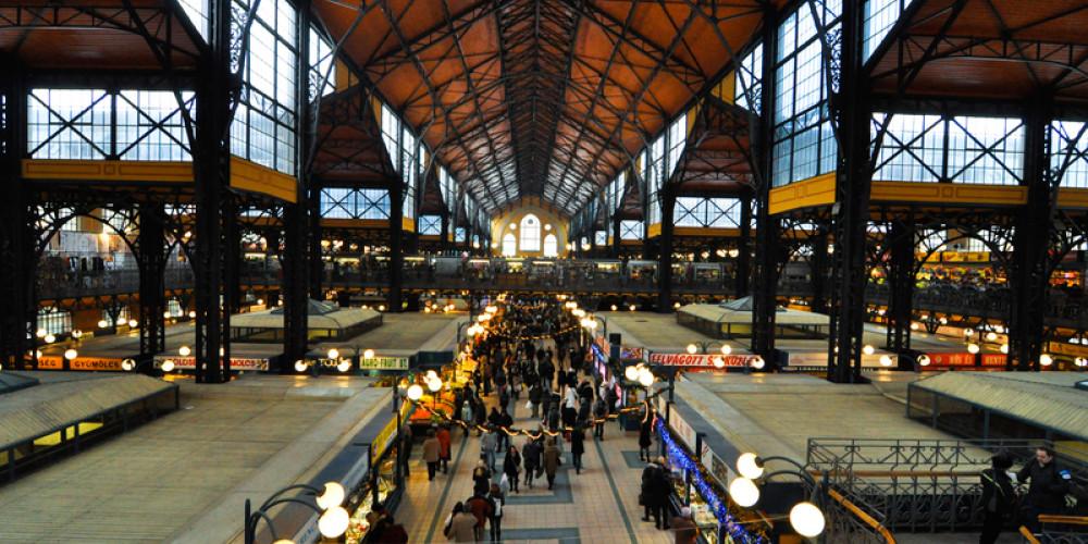 Great Hall Market, Budapest, Центральная и Северная (Будапешт, Мишкольц, Сольнок, Эгер), Венгрия
