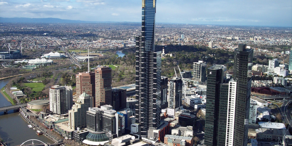 Виктория - Мельбурн: Eureka Tower, Виктория (Мельбурн), Австралия