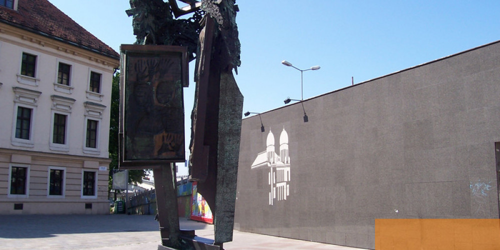 Bratislava: Pamataj Jewish Memorial, Братислава, Нитра, Трнава, Тренчин, Словакия