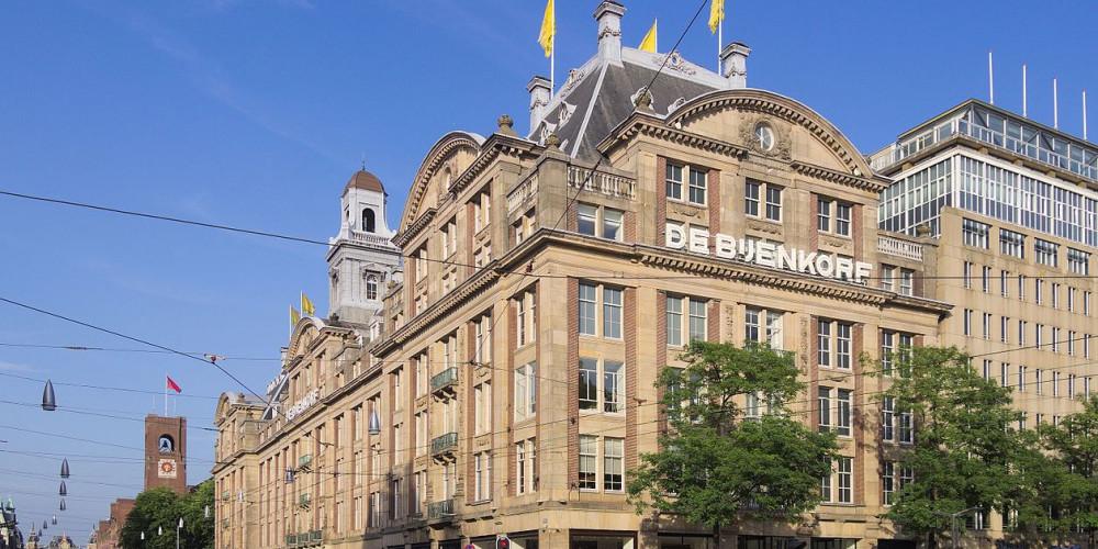 Амстердам: Бейнкорф (площадь Дам), Центр и Запад (Амстердам, Роттердам, Утрехт, Алмере), Нидерланды