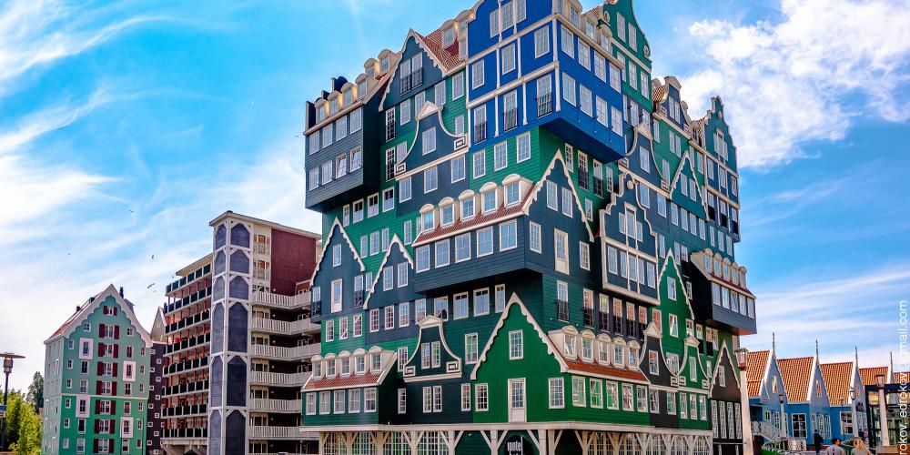 Зандам: Гостиница Иннтел, Центр и Запад (Амстердам, Роттердам, Утрехт, Алмере), Нидерланды