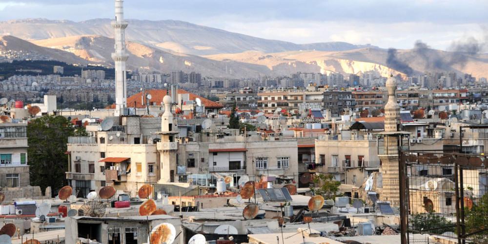Дамаск, Юго-восток (Дамаск, Дараа, ас-Сувайда), Сирия