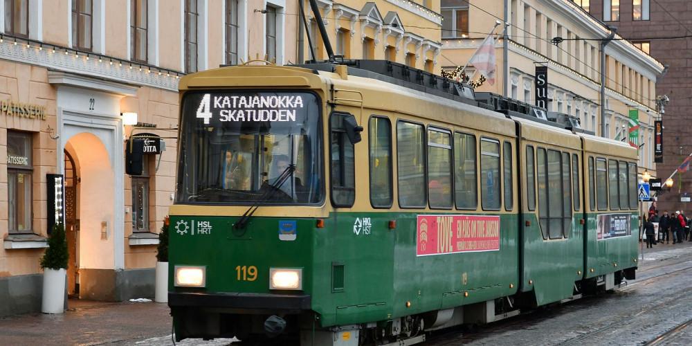 Helsinki Trams, Южный (Хельсинки, Лахти, Котка), Финляндия