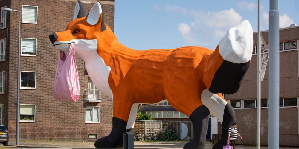 Роттердам: Лиса из Босполдера, Центр и Запад (Амстердам, Роттердам, Утрехт, Алмере), Нидерланды