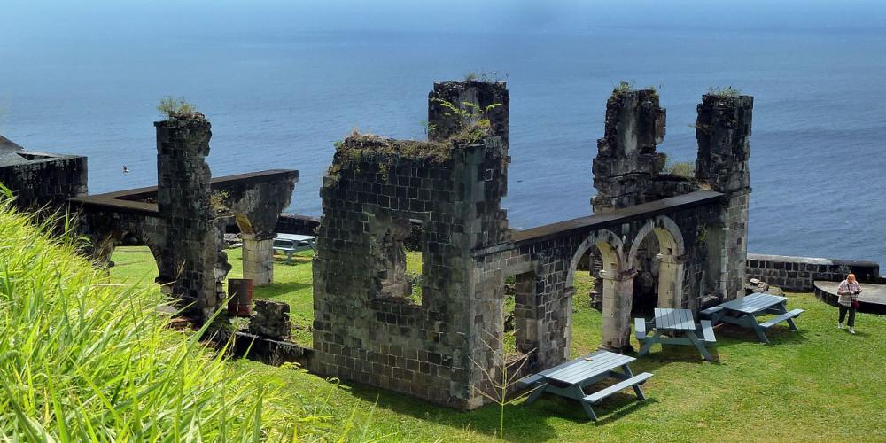 Фото Крепость Бримстон Хилл, Сент-Китс, Сент-Китс и Невис
