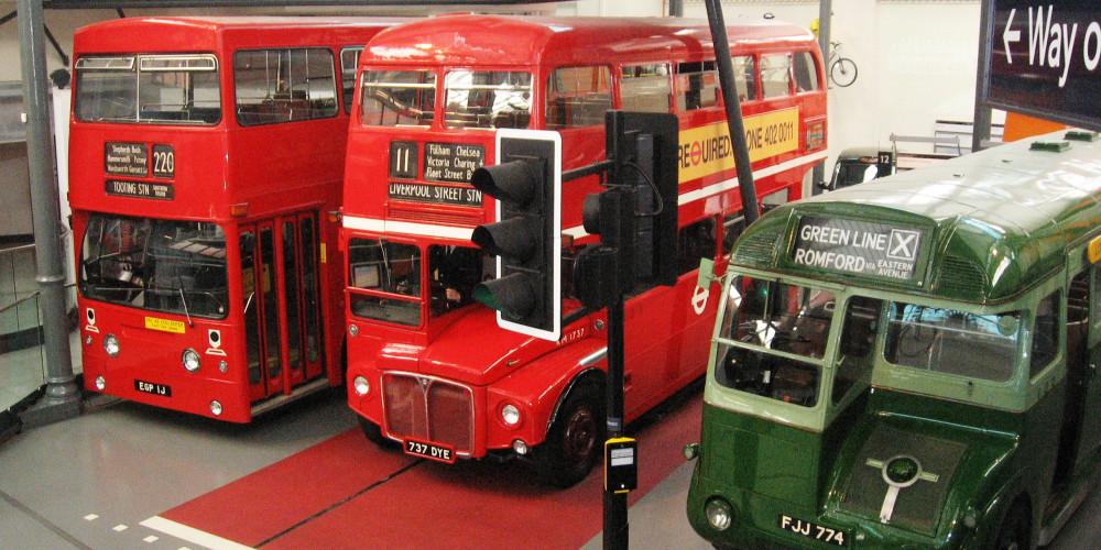 England - London: London Transport Museum, Большой Лондон, Великобритания - Англия