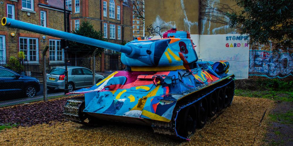 Т–34 в Юго–Восточном Лондоне, Большой Лондон, Великобритания - Англия