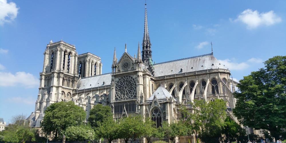 Париж: Собор Нотр-Дам, Иль-де-Франс (Париж), Франция