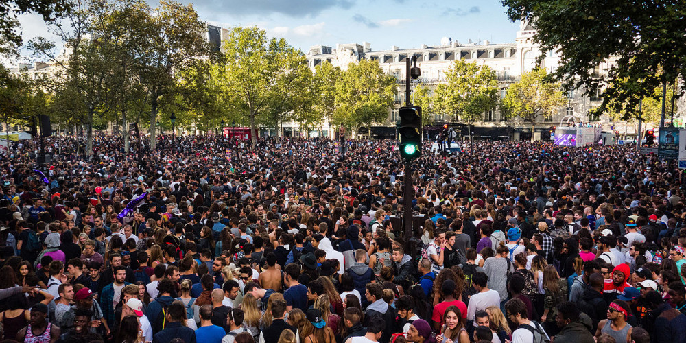 Парижский техно-парад, Иль-де-Франс (Париж), Франция