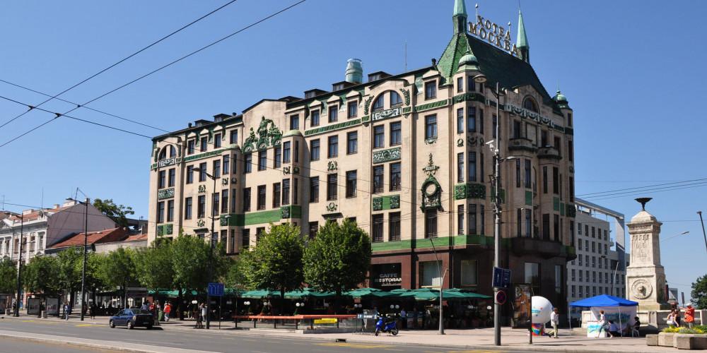Belgrade: Hotel Moskva, Белград, Запад (Новый Пазар, Крагуевац, Чачак, Кралево, Ужице), Сербия