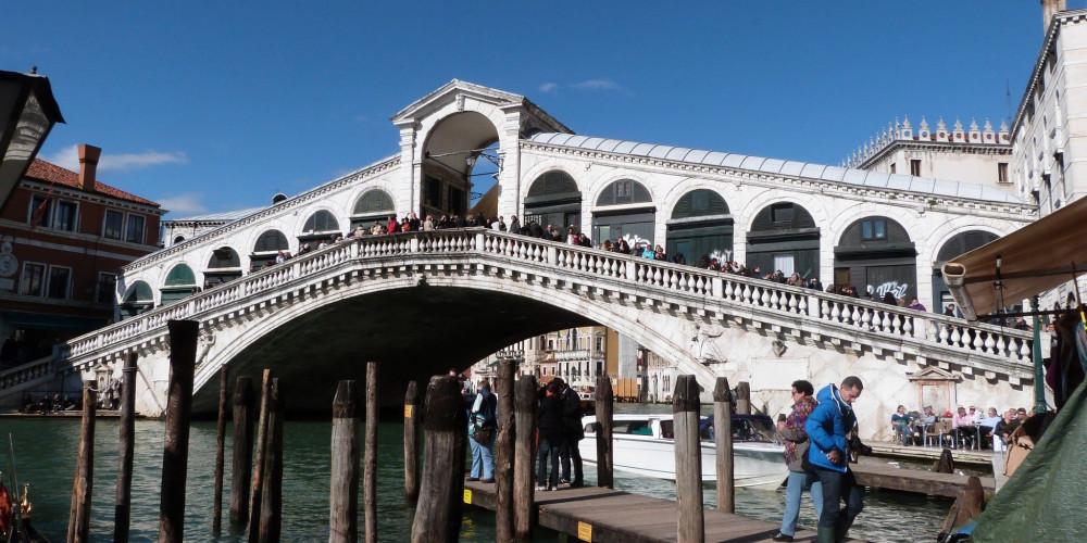 Венеция: Мост Риальто, Венето (Венеция, Верона, Виченца, Тревизо), Италия