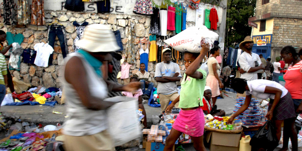 Порт-о-Пренс: Рынок Астерикс, Юг (Порт-о-Пренс, Жереми, Жакмель, Ле-Ке), Гаити