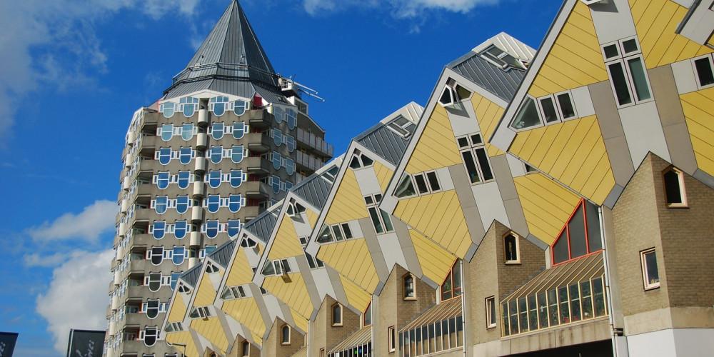 Роттердам: Кубические дома, Центр и Запад (Амстердам, Роттердам, Утрехт, Алмере), Нидерланды