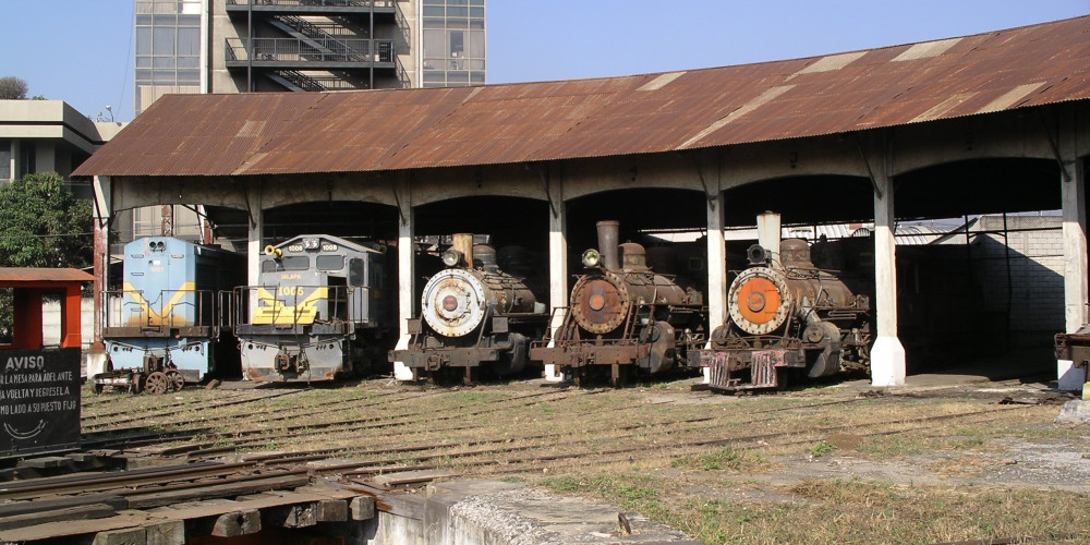 Гватемала: Железнодорожный музей Гватемалы, Центральная и Карибская (Гватемала, Антигуа, Кобан, П. Барриос), Гватемала