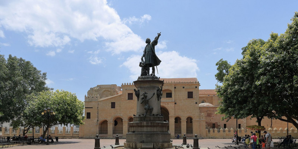 Санто-Доминго: Статуя Христофора Колумба, Восток, Юг (Санто-Доминго, Ла-Романа, Бараона), Доминиканская Республика